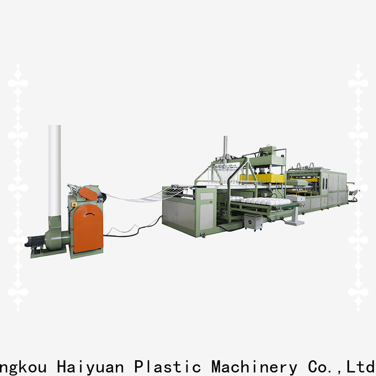 Custom absorbent tray plate machine making manufacturers for food box