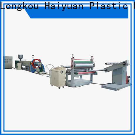 Haiyuan line epe foam sheet machine factory for food box
