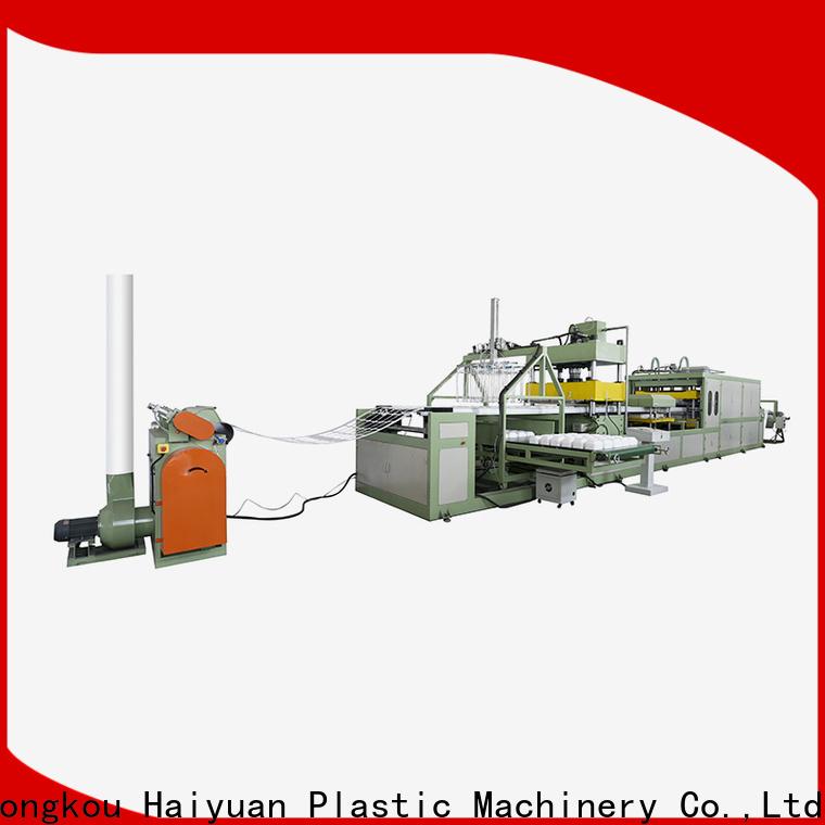 Custom disposable dish making machine machine supply for fast food