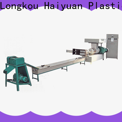 Haiyuan machine waste plastic recycling machine manufacturers for take away food