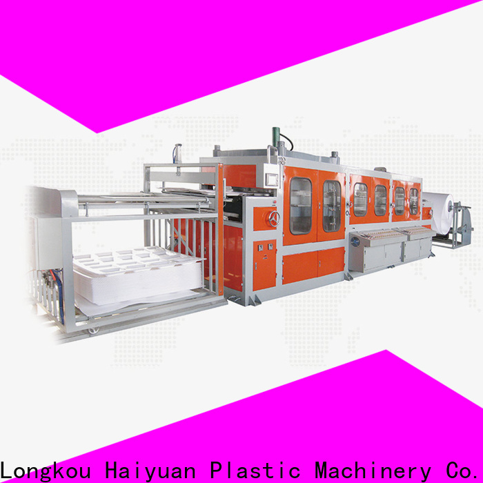 High-quality plastic food container machine machine for business for food box