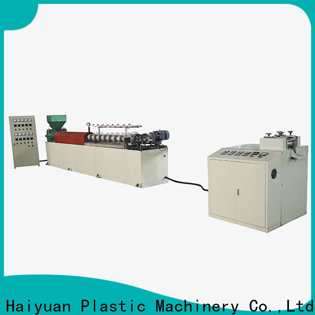 Haiyuan Top epe foam pipe extrusion line factory for fast food box