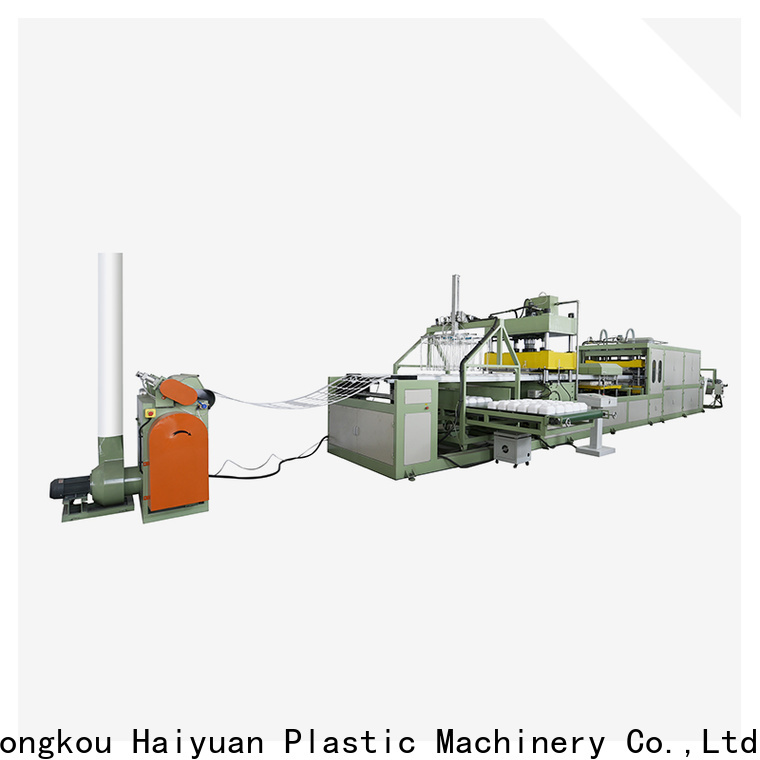 Top foam absorbent tray making machine making suppliers for food box