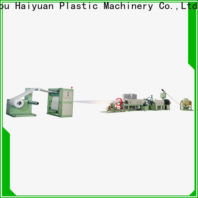 Haiyuan Best ps foam sheet machine factory for fast food box