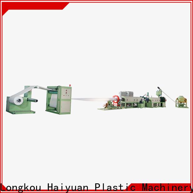 Haiyuan ps foam sheet making machine for business for food box
