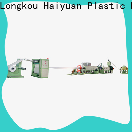 Haiyuan extrusion ps foam sheet extrusion line manufacturers for take away food