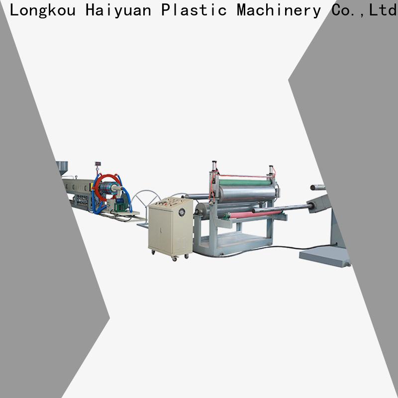Haiyuan line epe foam sheet machine supply for fast food