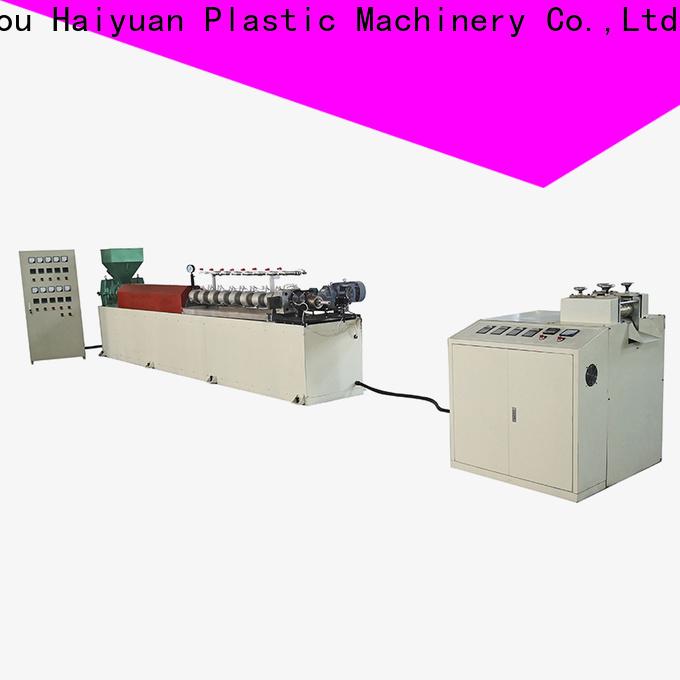 Haiyuan line epe foam rod machine company for take away food