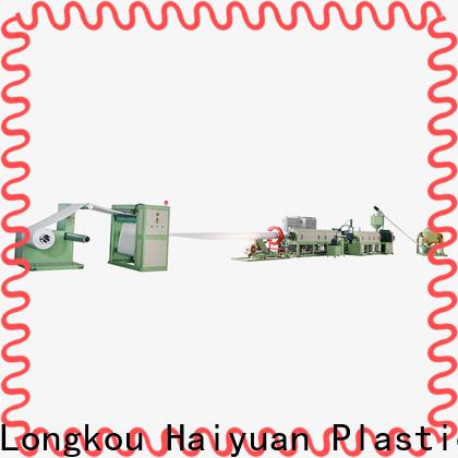 Haiyuan sheet ps foam sheet machine factory for food box