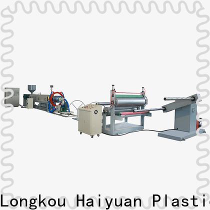 Haiyuan epe epe foam sheet machine company for fast food box