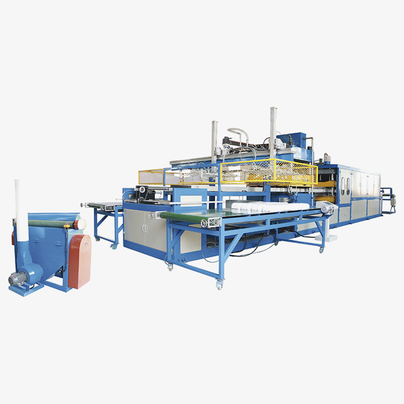 Automatic Vacuum Forming Machine Equipment Double Worktables